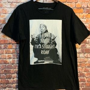 Tupac Shakur Men's size Large T- Shirt